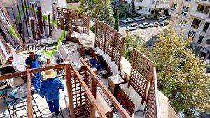 Roof Garden shariati (12)