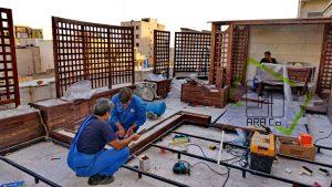 Roof Garden shariati (13)