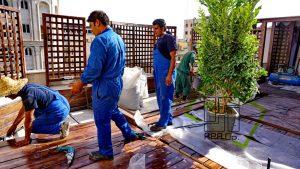 Roof Garden shariati (16)