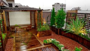roof garden Shariati